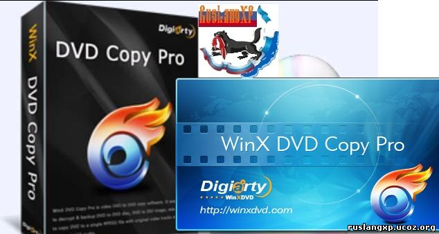 WinX DVD Copy Pro 3.6.3.0 + Rus